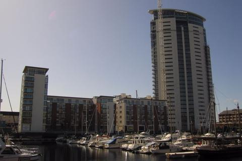 1 bedroom flat to rent - Meridian Tower, Maritime Quarter, SWANSEA