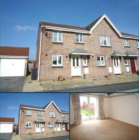 2 bedroom terraced house to rent - Saffron Way, Knighton Heath, Bournemouth