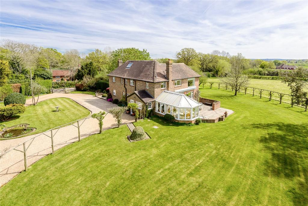 4 Bedrooms Detached House for sale in Tismans Common, Rudgwick, Horsham, West Sussex
