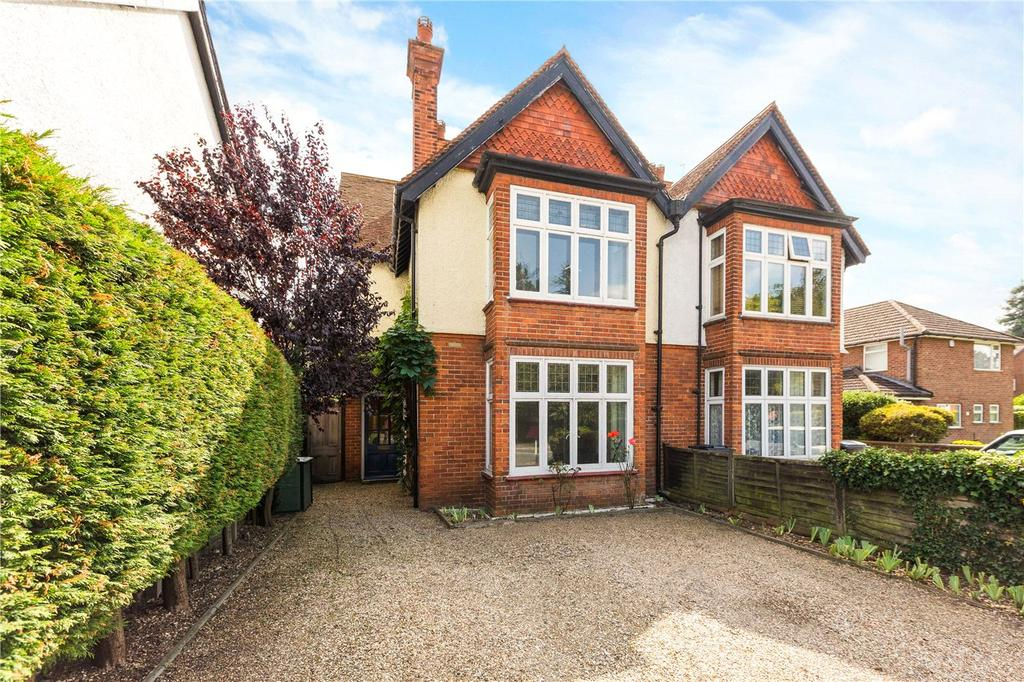 4 Bedrooms Semi Detached House for sale in St. Johns Road, Newbury, Berkshire, RG14