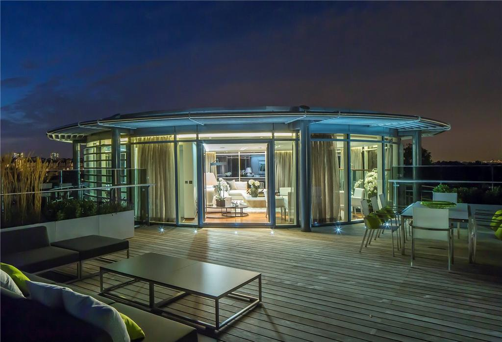 5 Bedrooms Flat for rent in Penthouse, The Atrium, 127-131 Park Road, St Johns Wood, NW8