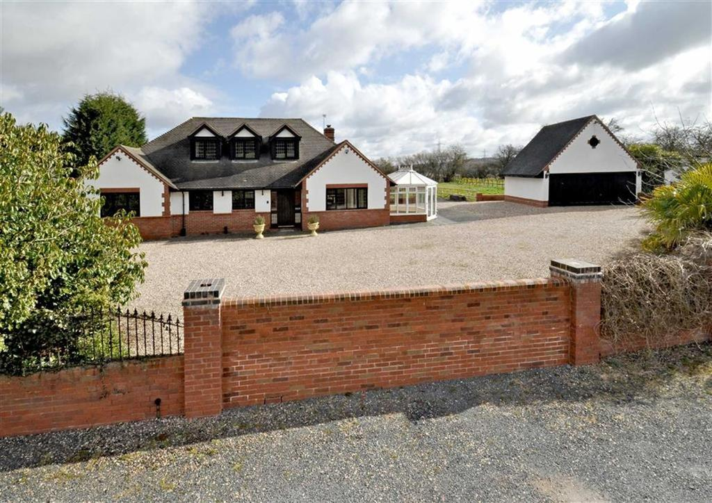 3 Bedrooms Detached House for sale in High Acres, Ebstree Road, Seisdon, Wolverhampton, South Staffordshire, WV5