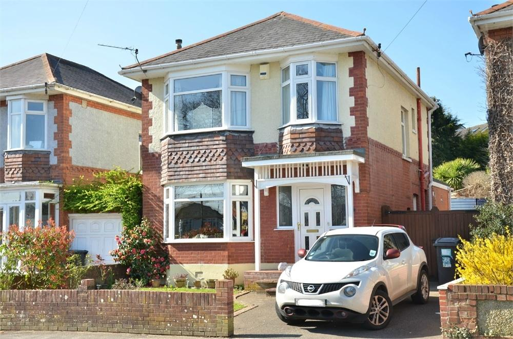 3 Bedrooms Detached House for sale in Bankside Road, Bournemouth, Dorset