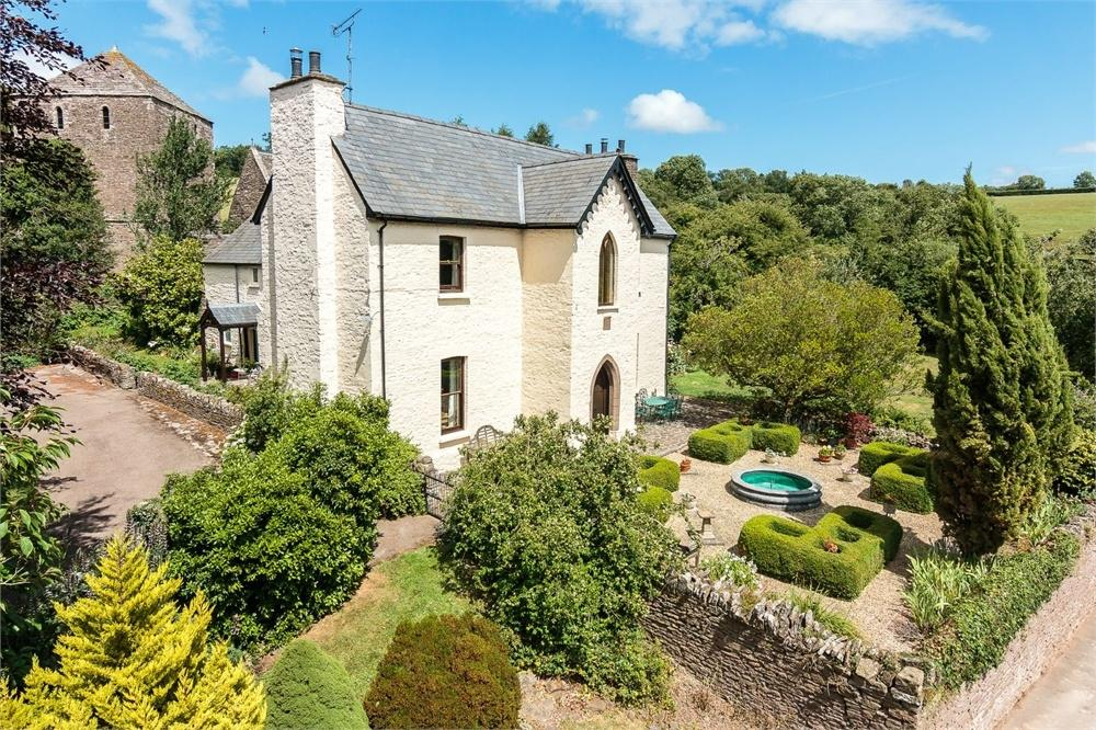 4 Bedrooms Detached House for sale in Garway, Herefordshire
