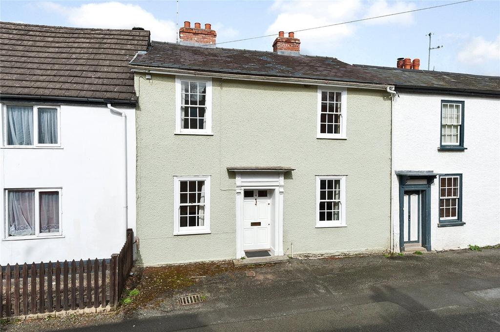 3 Bedrooms Terraced House for sale in Church Street, Presteigne, Powys
