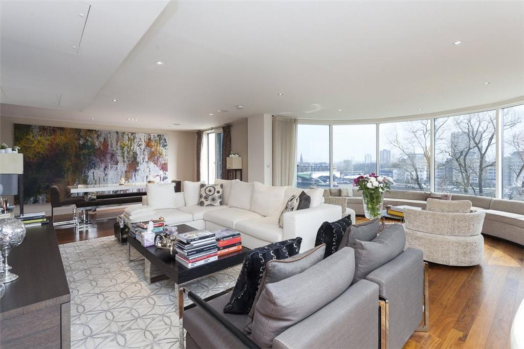 2 Bedrooms Flat for sale in Dolphin House, Lensbury Avenue, Imperial Wharf, London, SW6