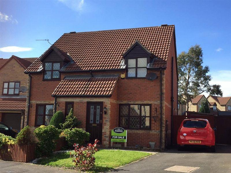 2 Bedrooms Semi Detached House for sale in Beech Avenue, Cramlington - Two Bedroom Semi