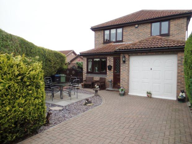 3 Bedrooms Detached House for sale in CHURCH PARK, WHEATLEY HILL, PETERLEE AREA VILLAGES