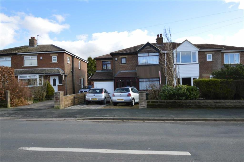 4 Bedrooms Semi Detached House for sale in Hainsworth Moor Drive, Queensbury BD13, Queensbury Bradford