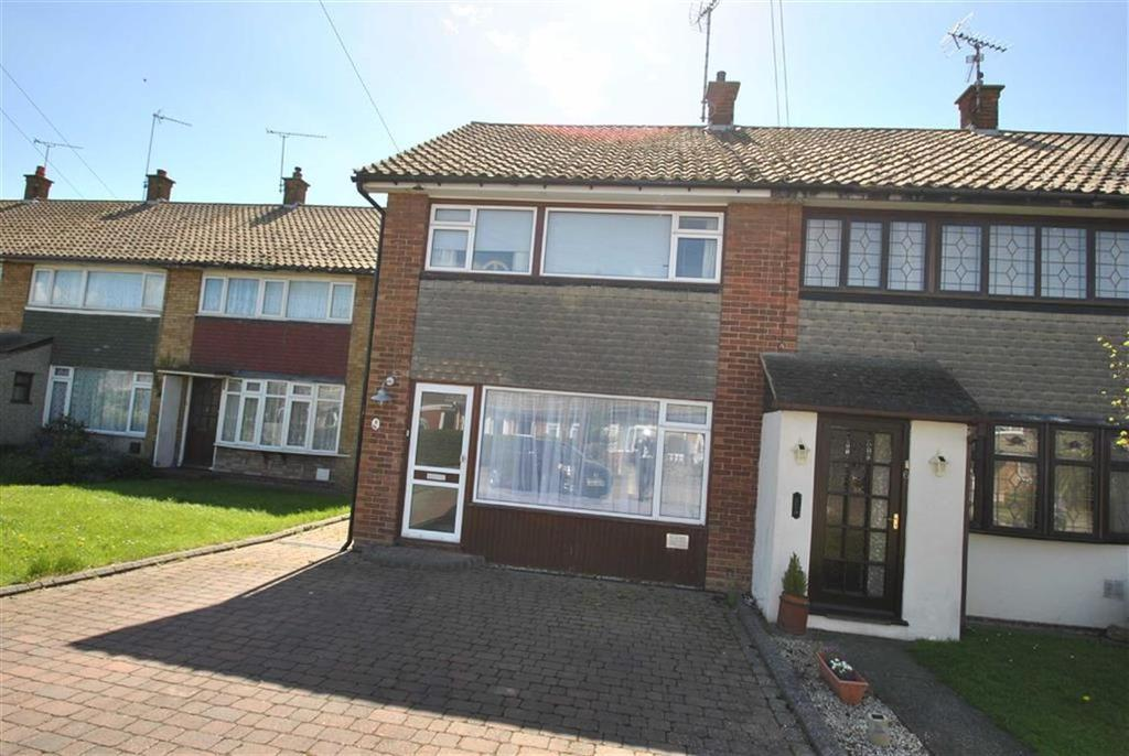 Westbury, Rochford, Essex 3 bed end-of-terrace house for sale ...