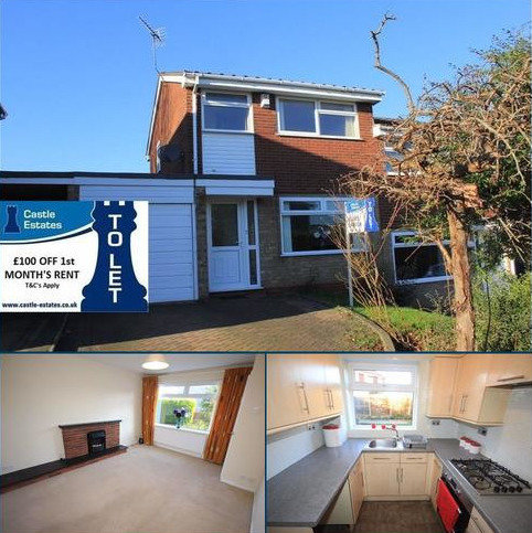 3 bedroom semi-detached house to rent - Cherrywood Close, Stafford, Staffordshire, ST17 4ND