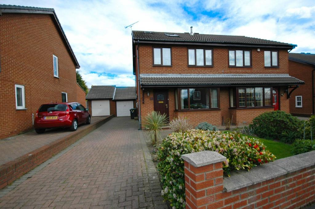 4 Bedrooms Semi Detached House for sale in Suffolk Gardens, South Shields