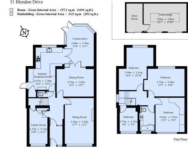 Floorplan: 31 Blendon Drive