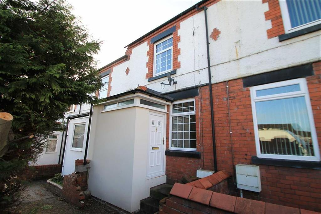 2 Bedrooms Terraced House for sale in Hollybush Terrace, Bradley, Wrexham