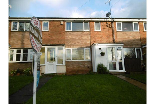 3 Bedrooms Town House for sale in BURNSIDE GARDENS,off Lodge Road,WALSALL