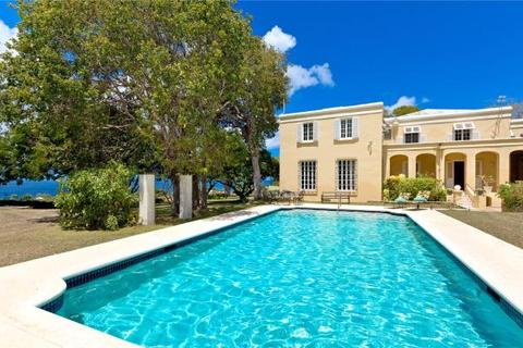 10 bedroom country house  - Colleton Great House, Colleton, St. Lucy, Barbados