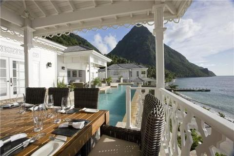 5 bedroom house  - Sugar Beach, Val Des Pitons, Saint Lucia