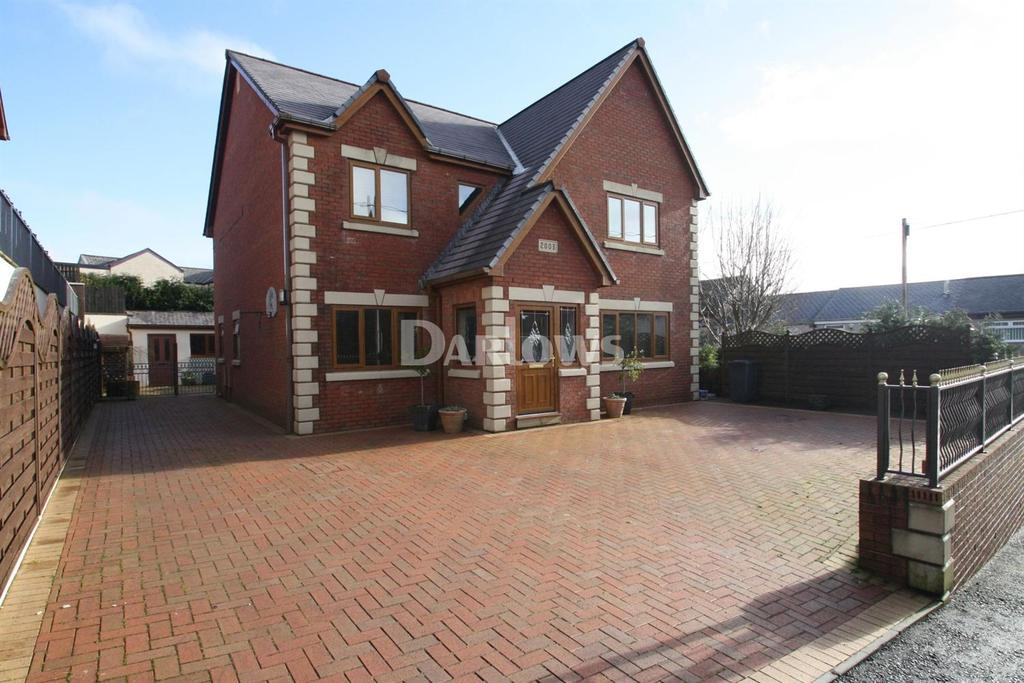 5 Bedrooms Detached House for sale in North Street, Beaufort, Ebbw Vale, Gwent