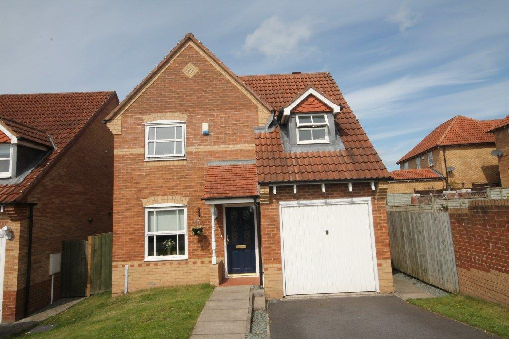3 Bedrooms Detached House for sale in Thurlow Gardens, Bishop Auckland