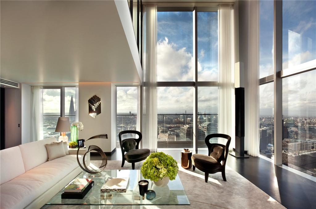 4 Bedrooms Penthouse Flat for sale in South Penthouse, The Heron, Moor Lane, London, EC2Y