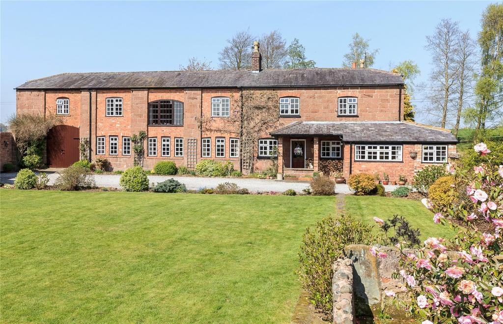 4 Bedrooms Detached House for sale in Gallowsclough Lane, Oakmere, Northwich, Cheshire, CW8