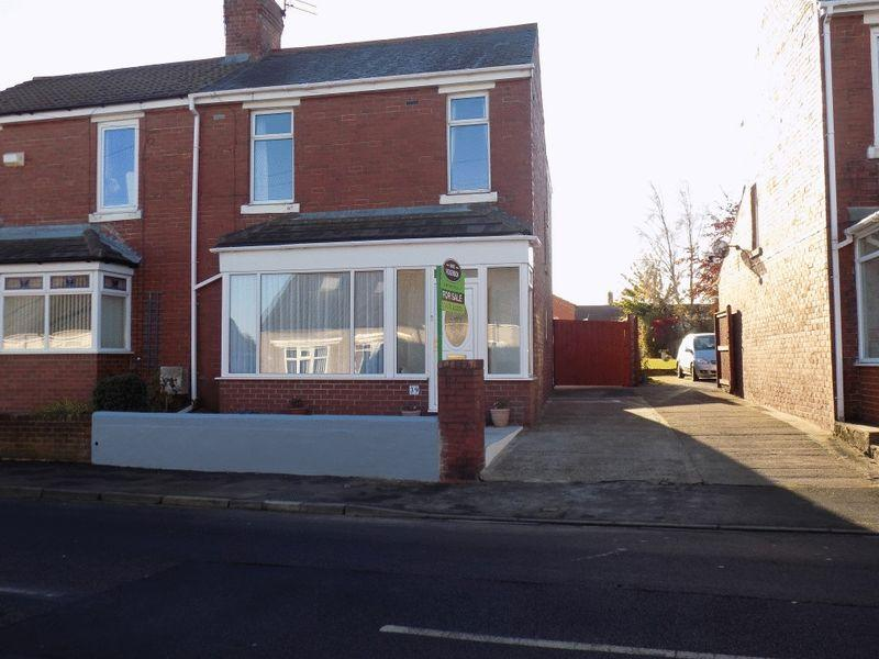 3 Bedrooms Semi Detached House for sale in Stead Lane, Bedlington, Three Bedroom Semi Detached