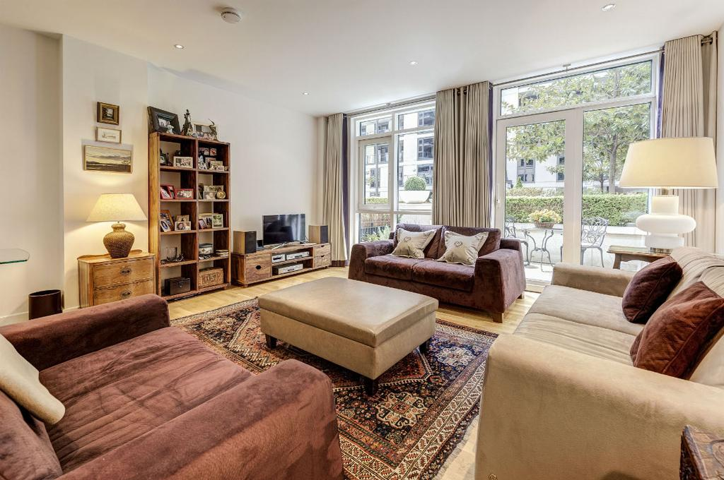 3 Bedrooms Apartment Flat for sale in Imperial Wharf, London SW6