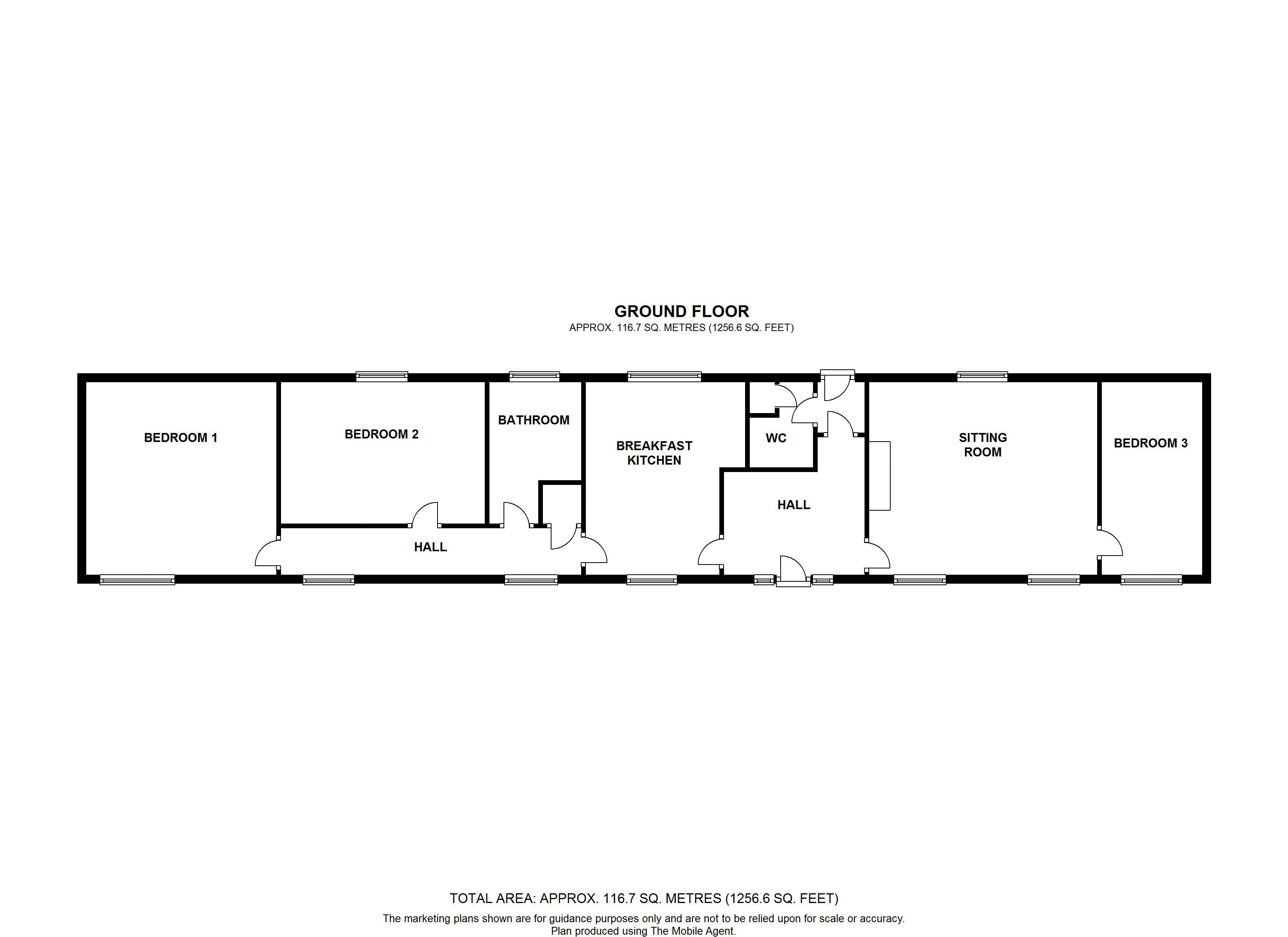 Floorplan: All property