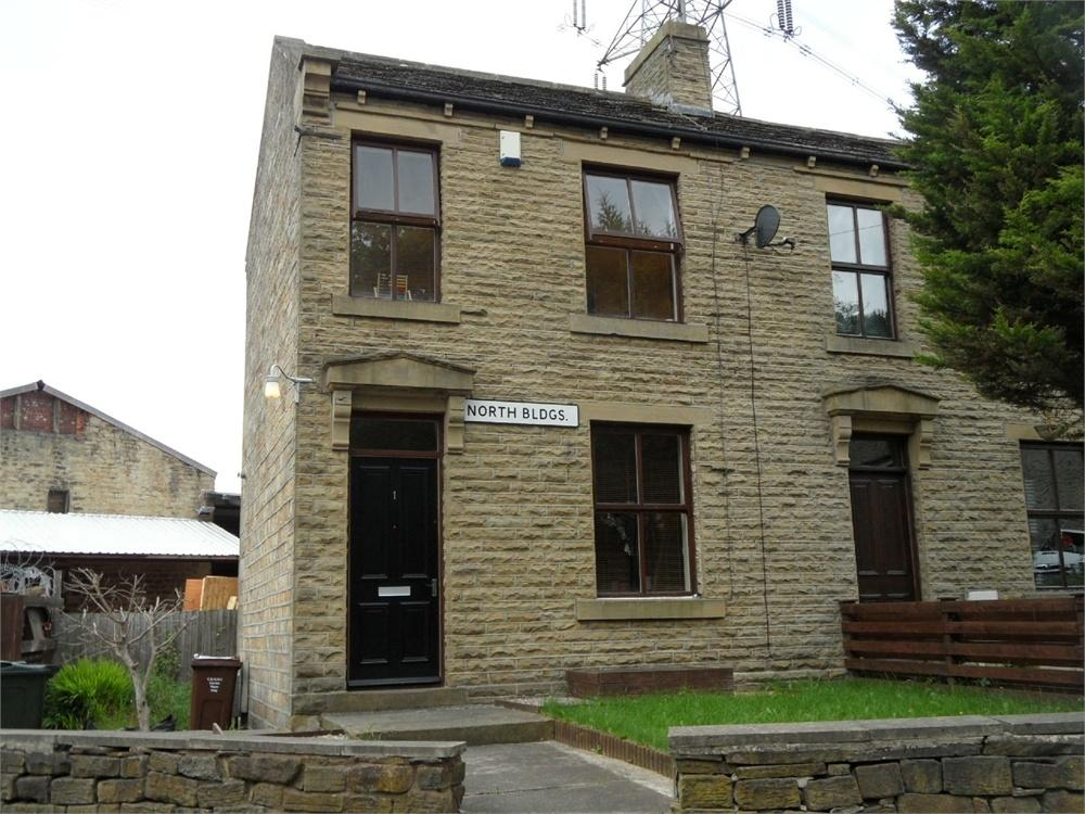 2 Bedrooms End Of Terrace House for sale in North Buildings, Storr Hill, WYKE, West Yorkshire