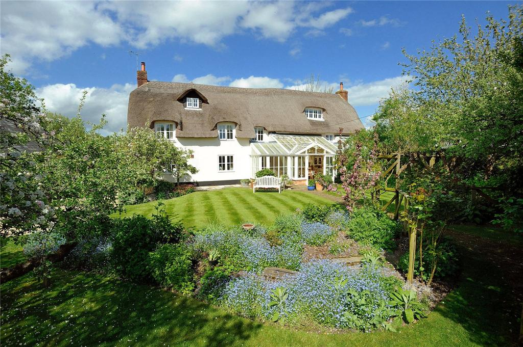 4 Bedrooms Detached House for sale in Winterborne Zelston, Winterborne Zelston, Blandford Forum, Dorset
