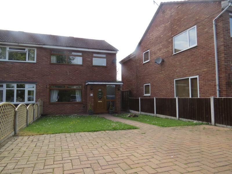 3 Bedrooms Semi Detached House for sale in Woodhall Close, Castlefields, Shrewsbury, SY1 2TS