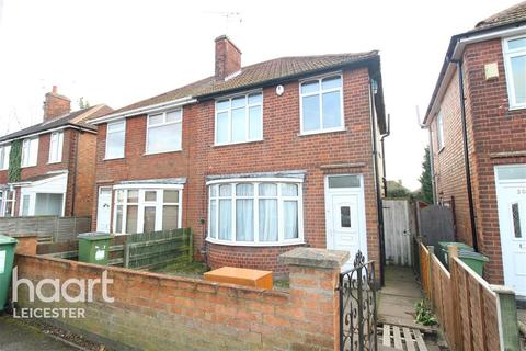3 bedroom semi-detached house to rent - Welcombe Avenue, Leicester