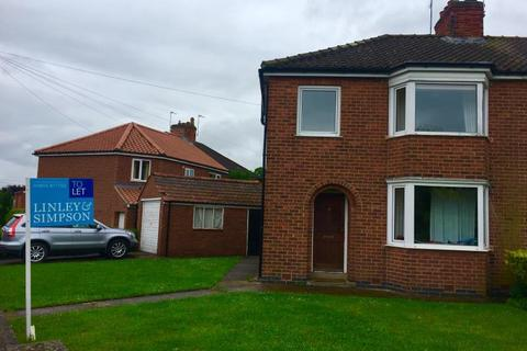 3 bedroom semi-detached house to rent - GRANTS AVENUE, FULFORD, YORK, YO10 4JA
