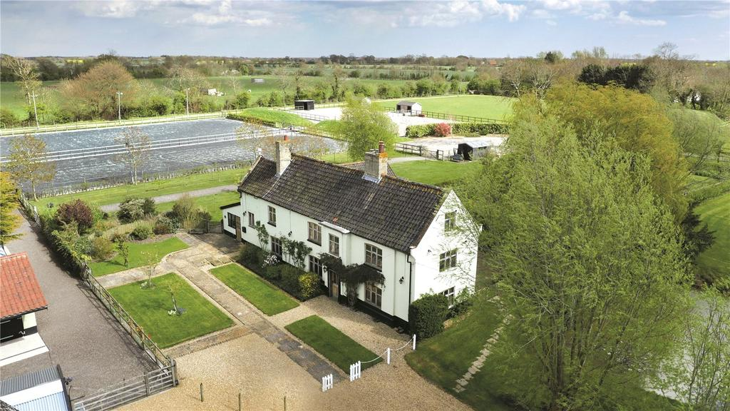 5 Bedrooms Detached House for sale in Equestrian Facility, Spexhall, Halesworth, Suffolk