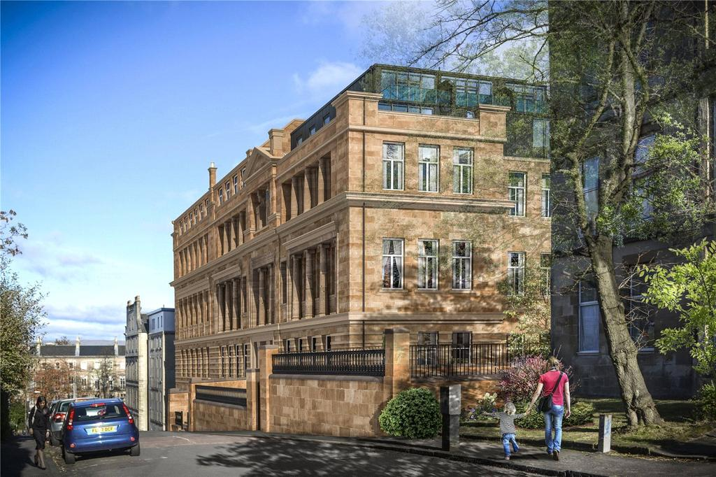 2 Bedrooms Flat for sale in Plot 0/7 - The School House, 15-21 Cecil Street, Glasgow, G12