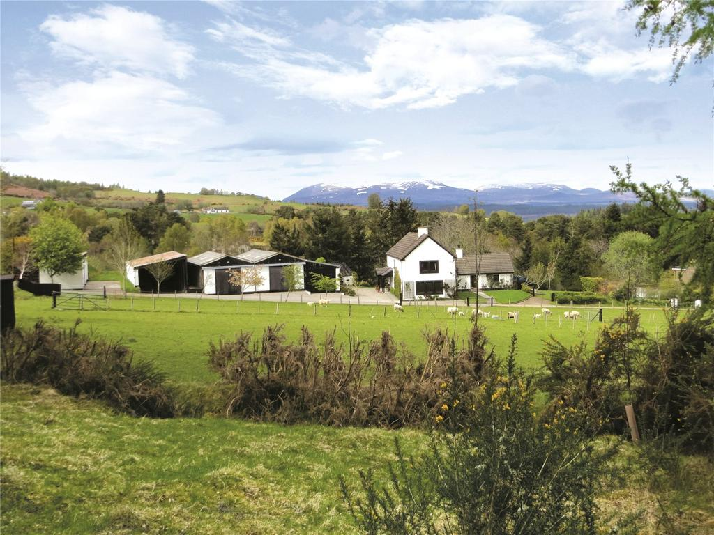 4 Bedrooms Detached House for sale in Aultvaich, Beauly, Inverness-Shire