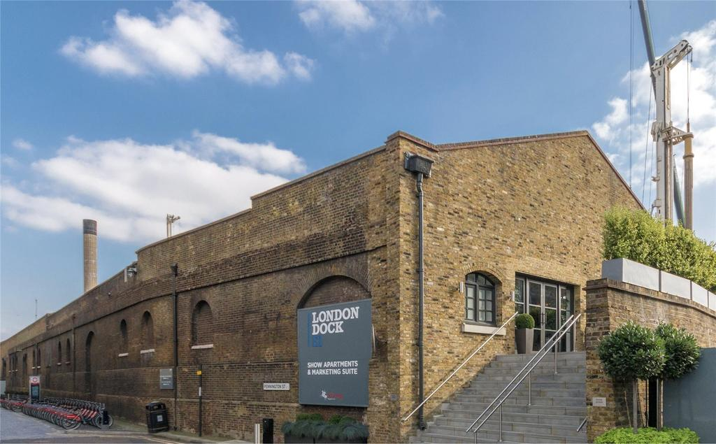 1 Bedroom Flat for sale in London Dock, Vaughan Way, Wapping, London