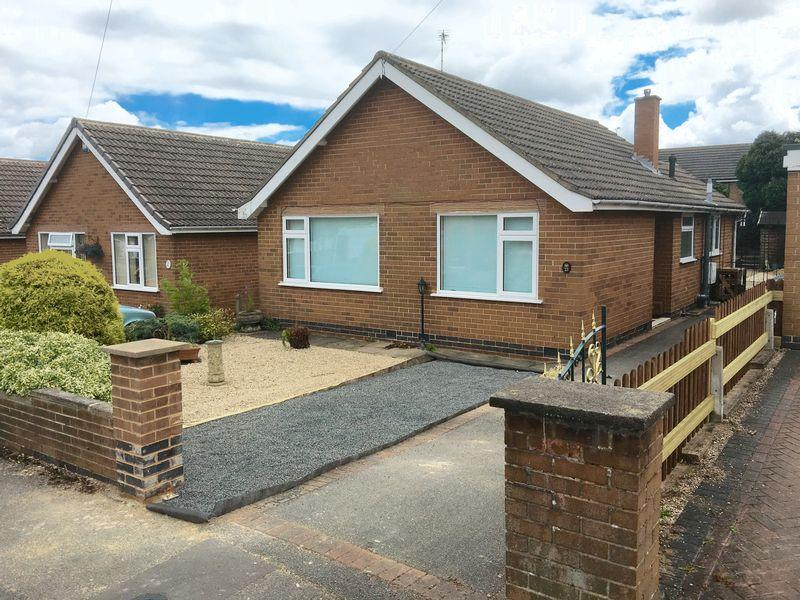 2 Bedrooms Detached Bungalow for sale in Field Rise, Littleover, Derby