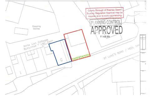 Land for sale - plot for development, Tredegar, Blaenau Gwent