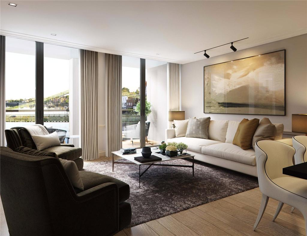 2 Bedrooms Apartment Flat for sale in Queen's Wharf, Hammersmith, W6