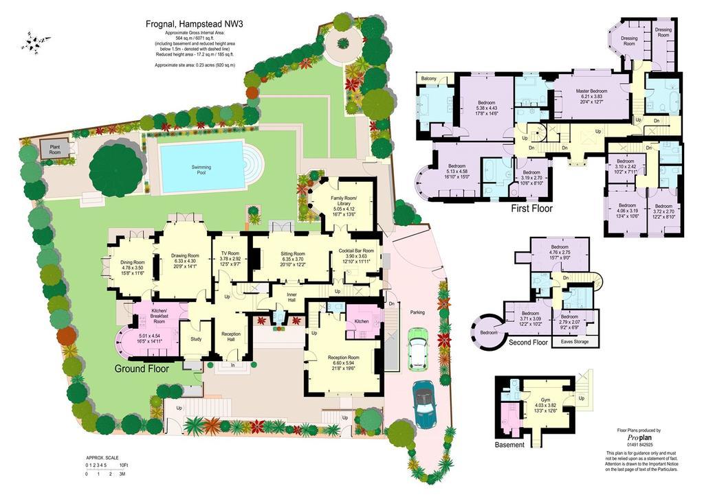 Floorplan: Floor & Site Plan