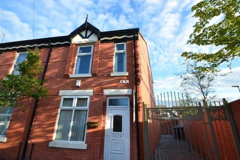 4 bedroom end of terrace house to rent - Carlton Avenue Rusholme, Manchester, M14 7NL