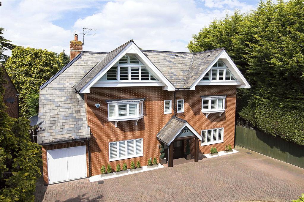 5 Bedrooms Detached House for sale in Queens Road, Weybridge, KT13