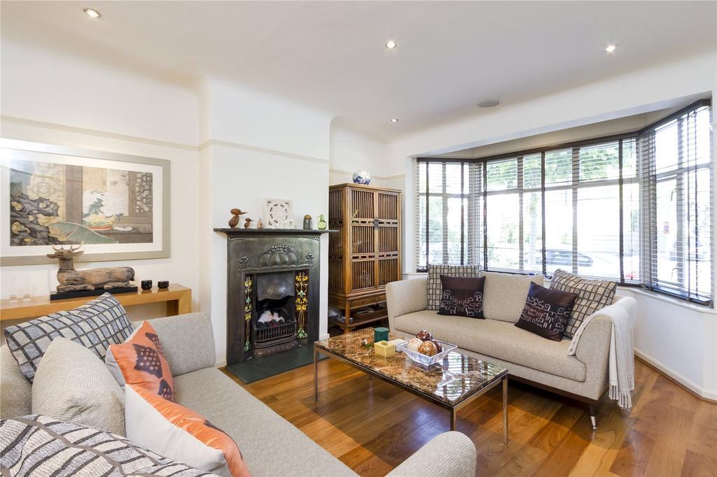 4 Bedrooms Semi Detached House for sale in West Park Avenue, Kew, Surrey