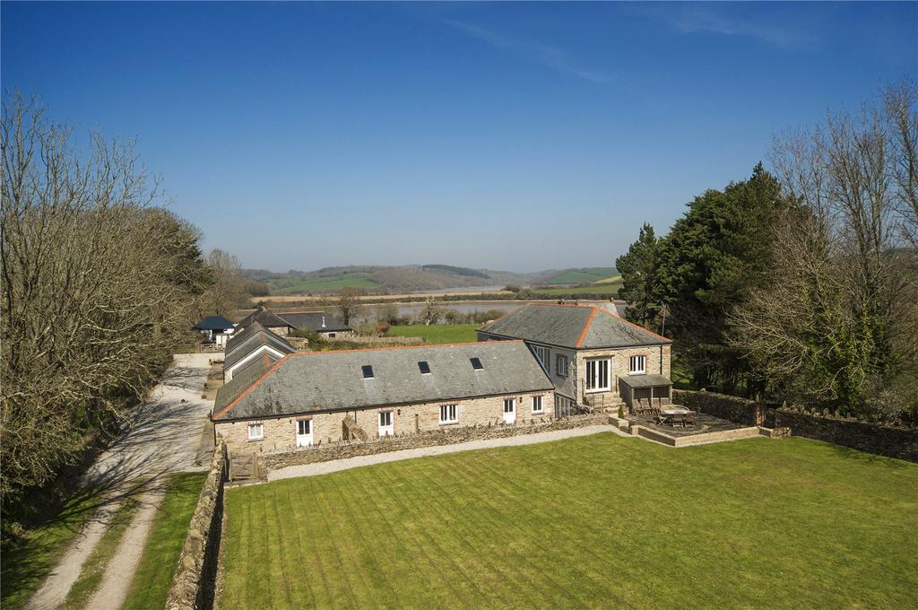 4 Bedrooms Detached House for sale in Philleigh, The Roseland, South Cornwall, TR2