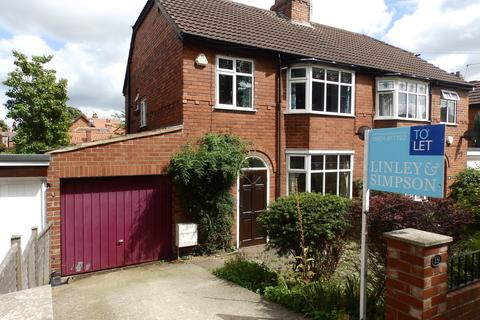 3 bedroom semi-detached house to rent - GREENCLIFFE DRIVE, CLIFTON, YORK, YO30 6NA