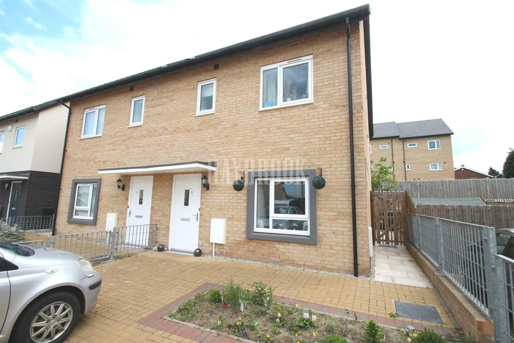 3 Bedrooms Semi Detached House for sale in Montgomery Mews, Wath-upon-dearne