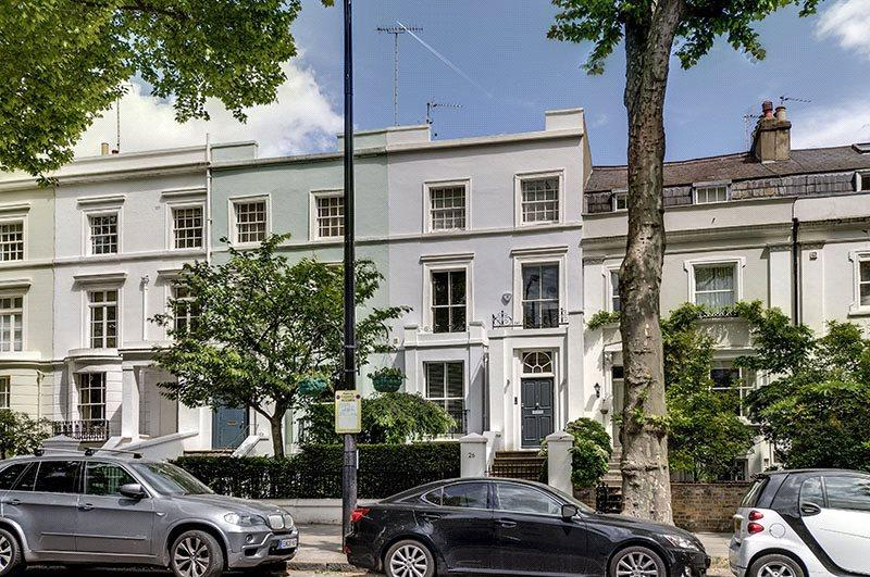 4 Bedrooms Terraced House for sale in Ladbroke Grove, Notting Hill, London, W11