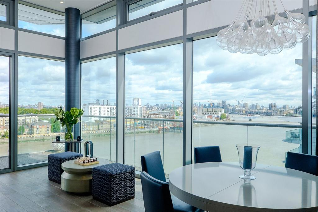 4 Bedrooms Penthouse Flat for sale in Coptain House, Riverside Quarter, Putney, London, SW18