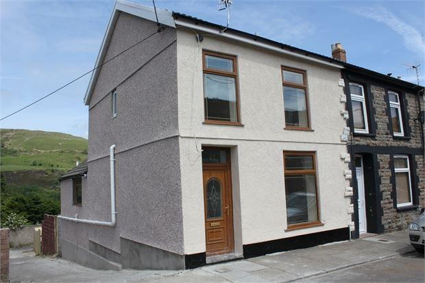 3 Bedrooms End Of Terrace House for sale in Kennard Street, Ton Pentre, pentre , Rhondda Cynon Taff. CF41 7AZ